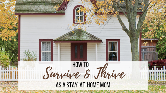 How Stay-at-Home Moms can Survive