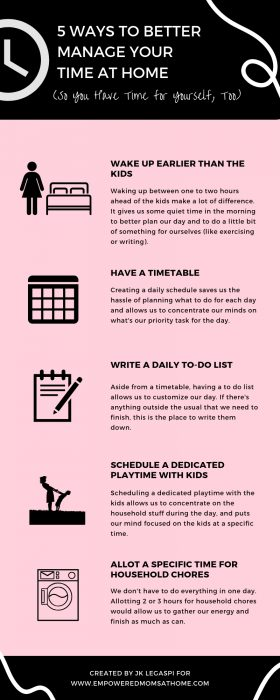 Infographic - Stay-at-Home Moms - Better Manage Time